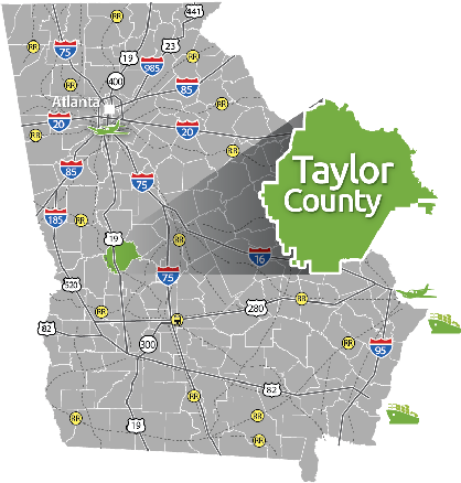 taylor-county-map